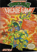 Teenage Mutant Ninja Turtles II: The Arcade Game NES Front Cover