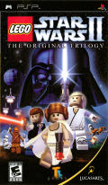 LEGO Star Wars II: The Original Trilogy PSP Front Cover