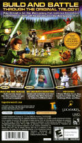 LEGO Star Wars II: The Original Trilogy PSP Back Cover