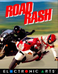 Road Rash Amiga Front Cover