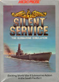 Silent Service Amiga Front Cover