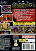 Mortal Kombat: Deception GameCube Back Cover