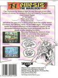 Nemesis the Warlock ZX Spectrum Back Cover