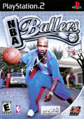 NBA Ballers PlayStation 2 Front Cover