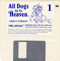 All Dogs Go to Heaven Amiga Media Disk 1/3