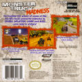 Monster Truck Madness Game Boy Advance Back Cover