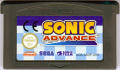 Sonic Advance Game Boy Advance Media