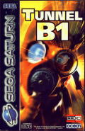 Tunnel B1 SEGA Saturn Front Cover