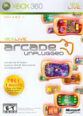 Xbox Live Arcade Unplugged Volume 1 Xbox 360 Front Cover
