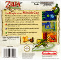 The Legend of Zelda: The Minish Cap Game Boy Advance Back Cover