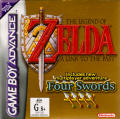 The Legend of Zelda: A Link to the Past/Four Swords Game Boy Advance Front Cover