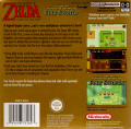 The Legend of Zelda: A Link to the Past/Four Swords Game Boy Advance Back Cover