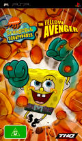 SpongeBob SquarePants: The Yellow Avenger PSP Front Cover