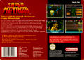 Super Metroid SNES Back Cover