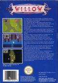 Willow NES Back Cover