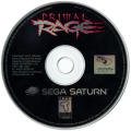Primal Rage SEGA Saturn Media