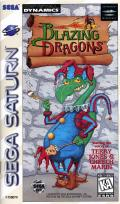 Blazing Dragons SEGA Saturn Front Cover