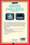 Winter Challenge: World Class Competition Amiga Back Cover
