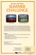 Summer Challenge Amiga Back Cover