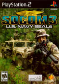 SOCOM 3: U.S. Navy SEALs PlayStation 2 Front Cover