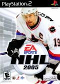 NHL 2005 PlayStation 2 Front Cover
