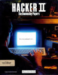 Hacker II: The Doomsday Papers Amiga Front Cover