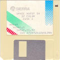 Space Quest IV: Roger Wilco and the Time Rippers Amiga Media Disk 1/7