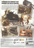 Company of Heroes Windows Back Cover