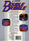 Double Dribble Amiga Back Cover
