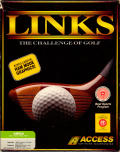 Links: The Challenge of Golf Amiga Front Cover