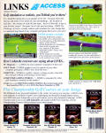Links: The Challenge of Golf Amiga Back Cover