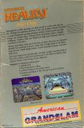 Alternate Reality: The City Commodore 64 Back Cover
