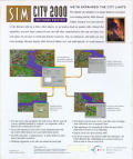 SimCity 2000: Network Edition Windows Back Cover