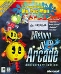 Microsoft Return of Arcade Anniversary Edition Windows Front Cover