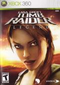 Lara Croft Tomb Raider: Legend Xbox 360 Front Cover