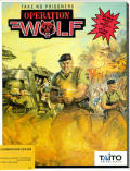 Operation Wolf Commodore 64 Front Cover