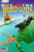 World Games Commodore 64 Front Cover