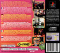 Ghoul Panic PlayStation Back Cover