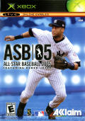 All-Star Baseball 2005 Xbox Front Cover