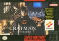 Batman Returns SNES Front Cover