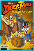 Disney's Duck Tales: The Quest for Gold Amiga Front Cover