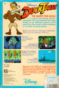 Disney's Duck Tales: The Quest for Gold Amiga Back Cover