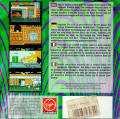 Double Dragon Amiga Back Cover