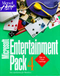Microsoft Entertainment Pack 4 Windows 3.x Front Cover