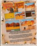 Buffalo Bill's Wild West Show Commodore 64 Back Cover