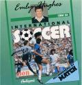 Emlyn Hughes International Soccer Commodore 64 Front Cover
