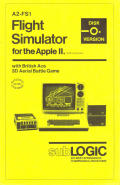 Flight Simulator Apple II Front Cover