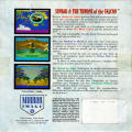 Sinbad and the Throne of the Falcon Amiga Back Cover