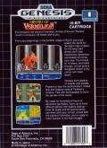 Sword of Vermilion Genesis Back Cover