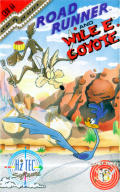 Road Runner and Wile E. Coyote Commodore 64 Front Cover